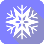 snowflake_flat_Christmas_icon