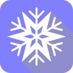snowflake_flat_Christmas_icon