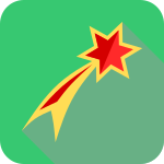 star_flat_Christmas_icon