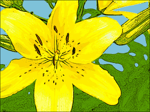 lily_yellow_clip_art